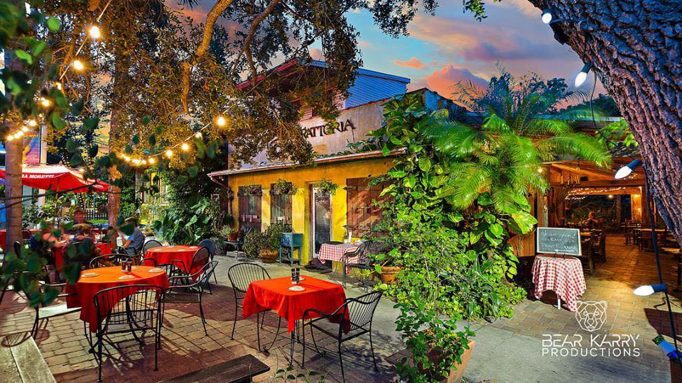 Pia's Trattoria Gulfport, FL - Guide to Tampa Bay Patios for Date Night