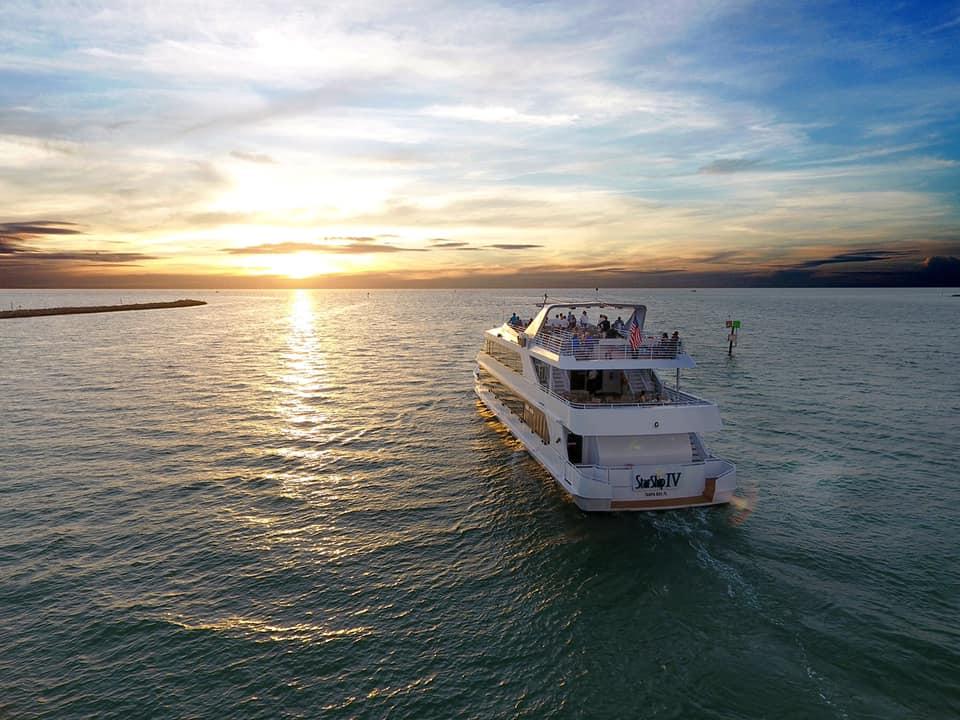 Yacht Starship sunset cruises