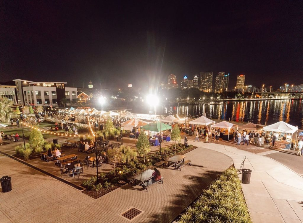 Heights Night Market at Armature Works