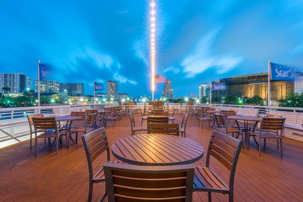 Tampa Bay events February 2021 - Concert Under the Stars on Yacht StarShip