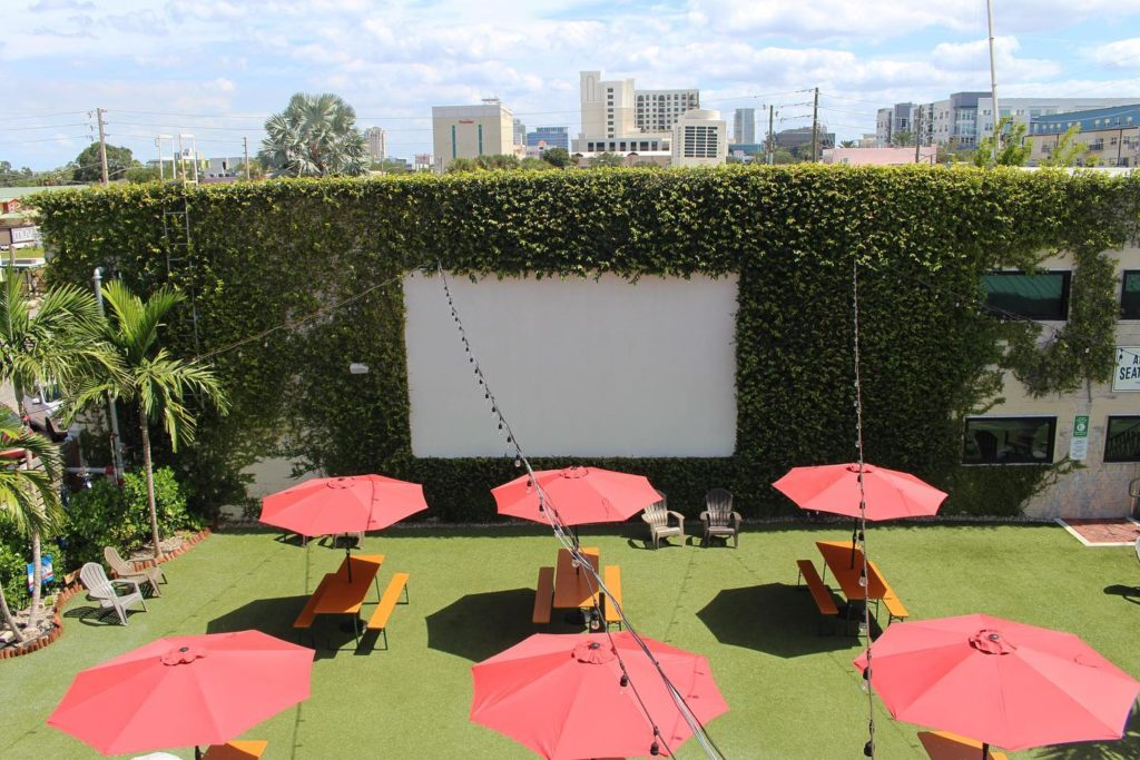 Events in Tampa Bay - Green Bench Brewing Co. Movies in the Beer Garden